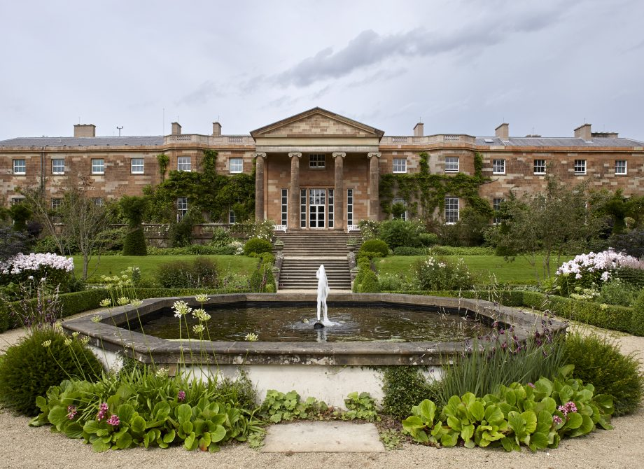 Hillsborough Castle, Co. Down. The home of the Secretary of State for Northern Ireland. House and garden. The garden portico added to the south of the house in 1840. Photograph: Paul Highnam/Country Life Picture Library OVERS