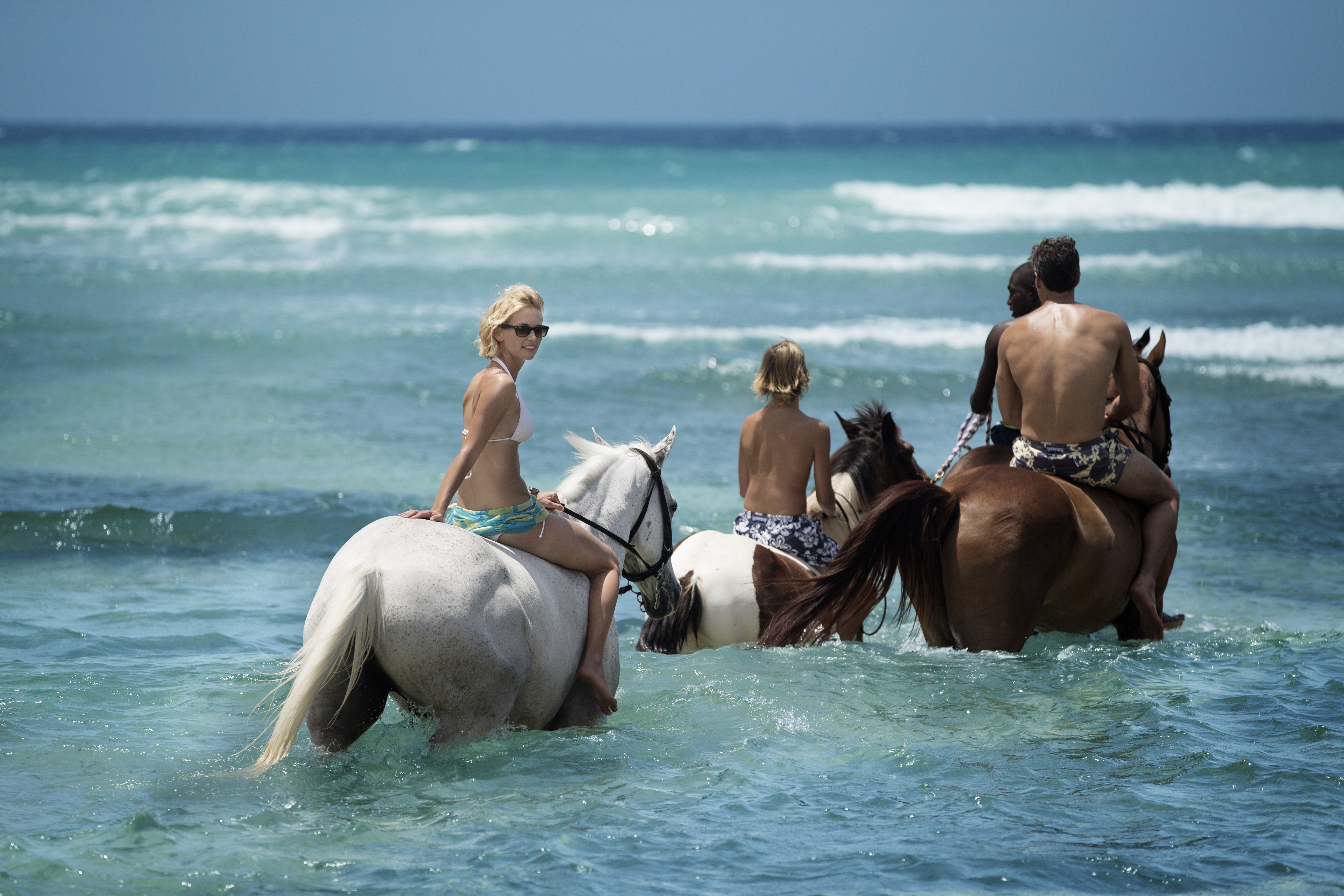 A seaside estate in Montego Bay, where you can swim with horses and sample local herbal remedies