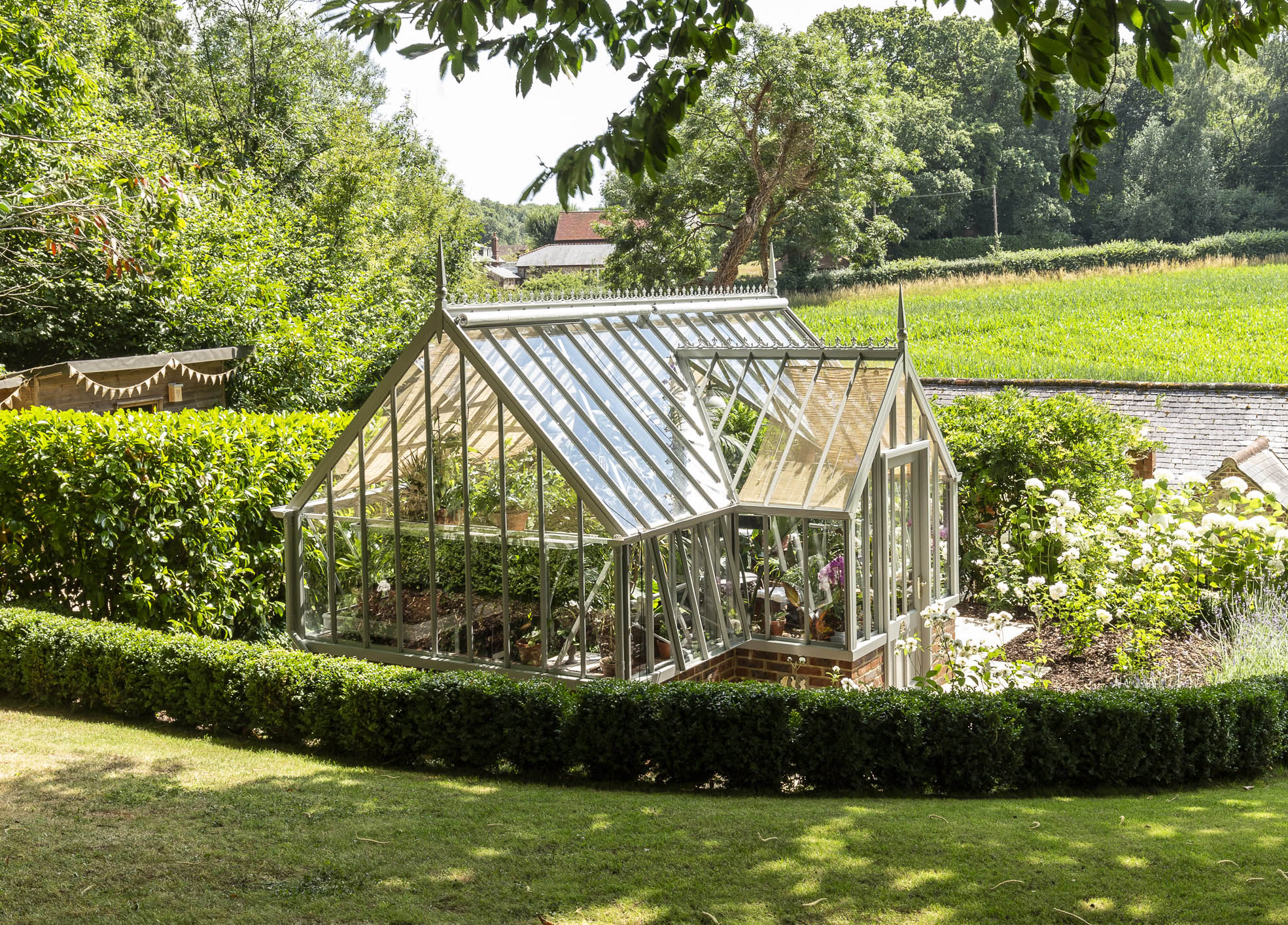 A Room For All Seasons: How an Alitex greenhouse creates a wonderful space to enjoy all year round