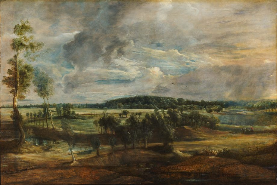 A Landscape in Flanders, 1635–40, 3ft by 4¼ft, by Peter Paul Rubens (1577–1640), The Barber Institute of Fine Arts, Birmingham