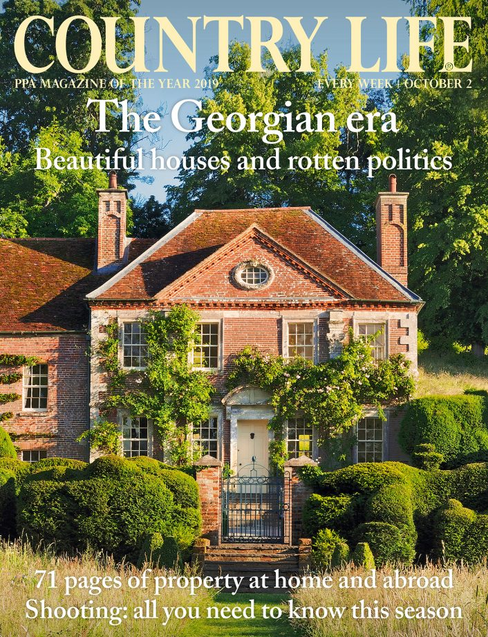 Cover of Country Life 2 October 2019