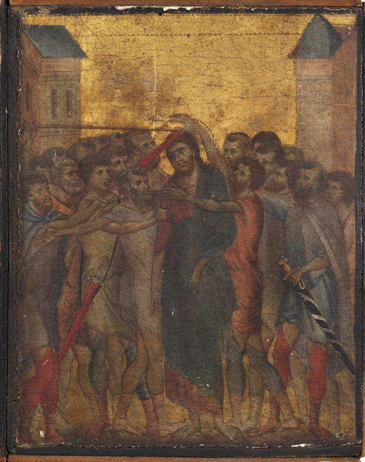 Cimabue's 'Le Christ moqué'