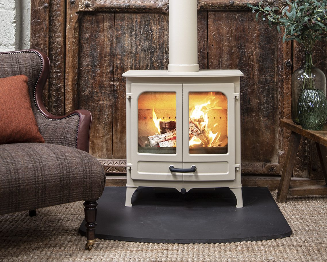 Seven gorgeous fires to keep you warm this winter, from clean and green to striking marble