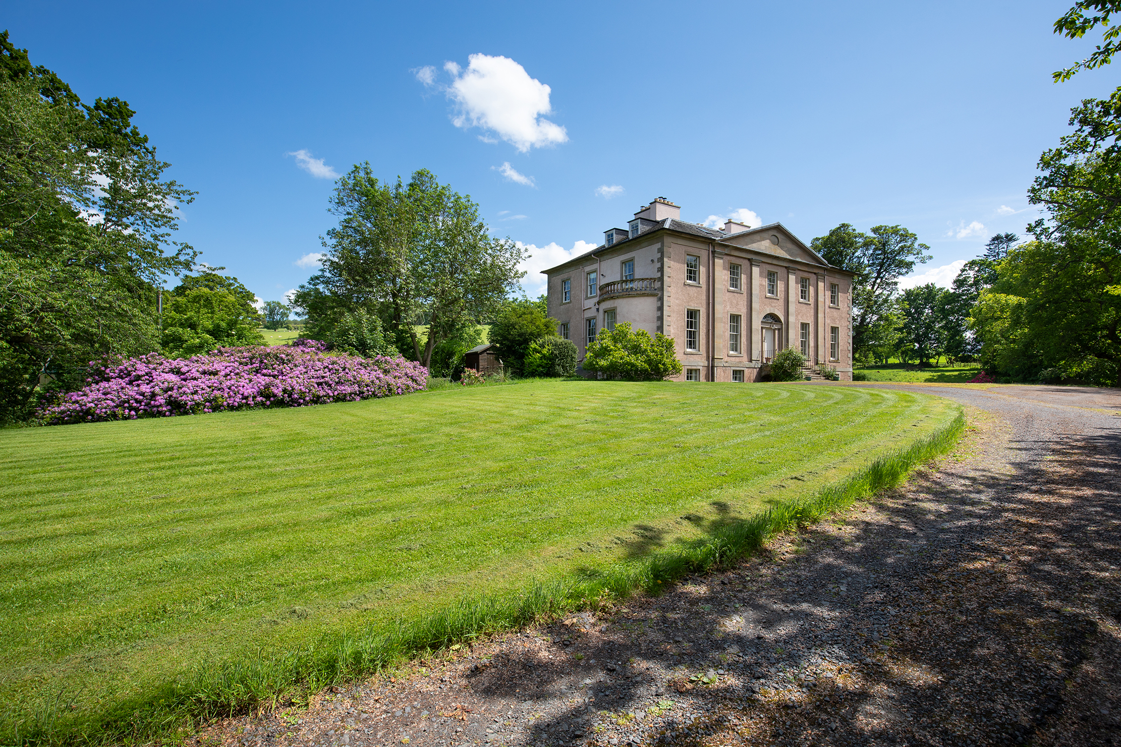 Rory Bremner's 'magical Borders retreat' for sale after 10 happy years and a 'labour of love' restoration