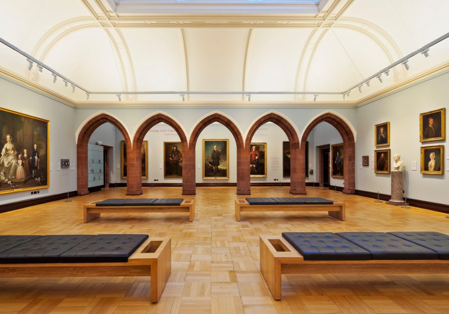 Scottish National Portrait Gallery,interior,Edinburgh,Lothian,Scotland,United Kingdom