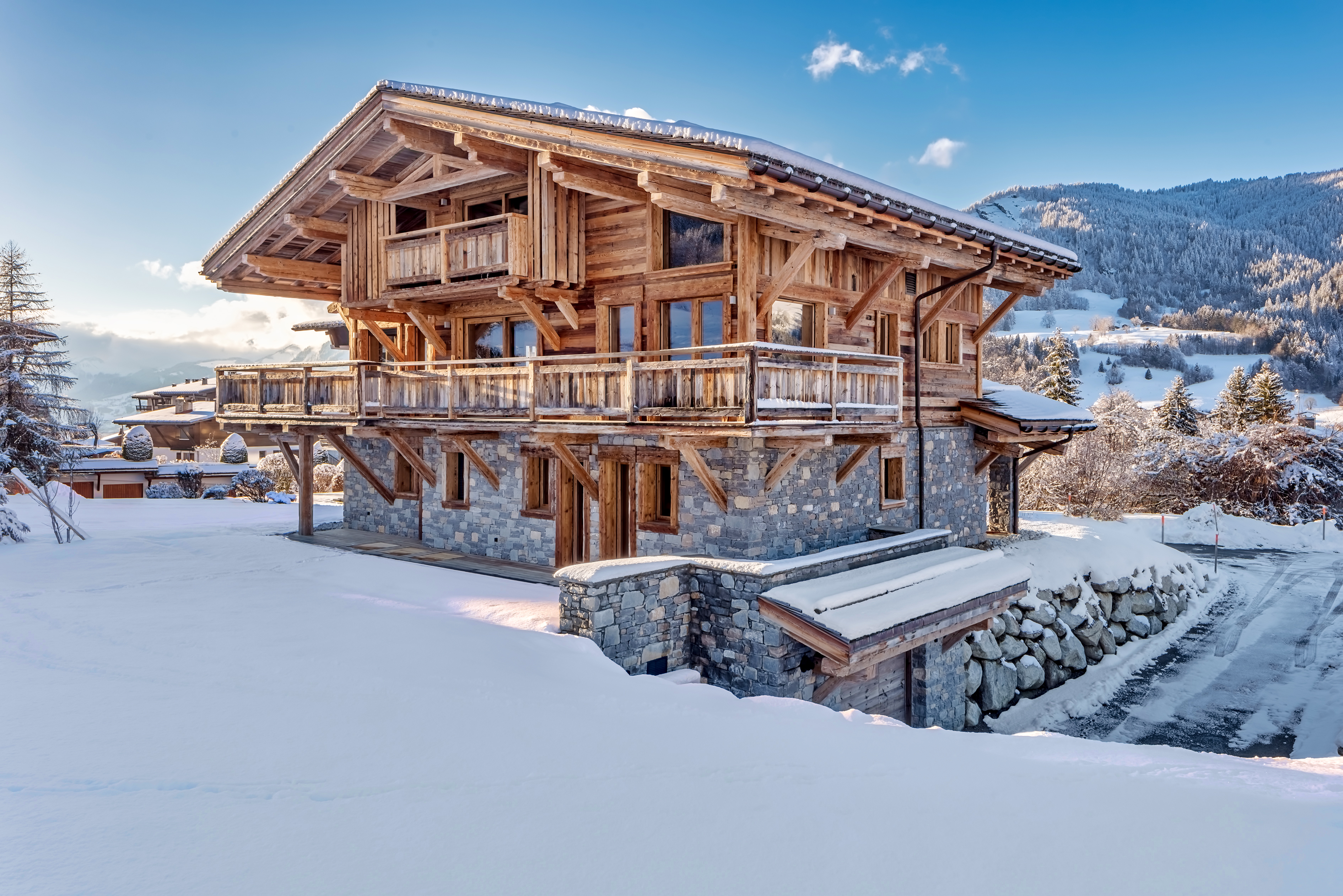 Six stunning ski chalets on the market now, with luxurious interiors and spectacular vistas