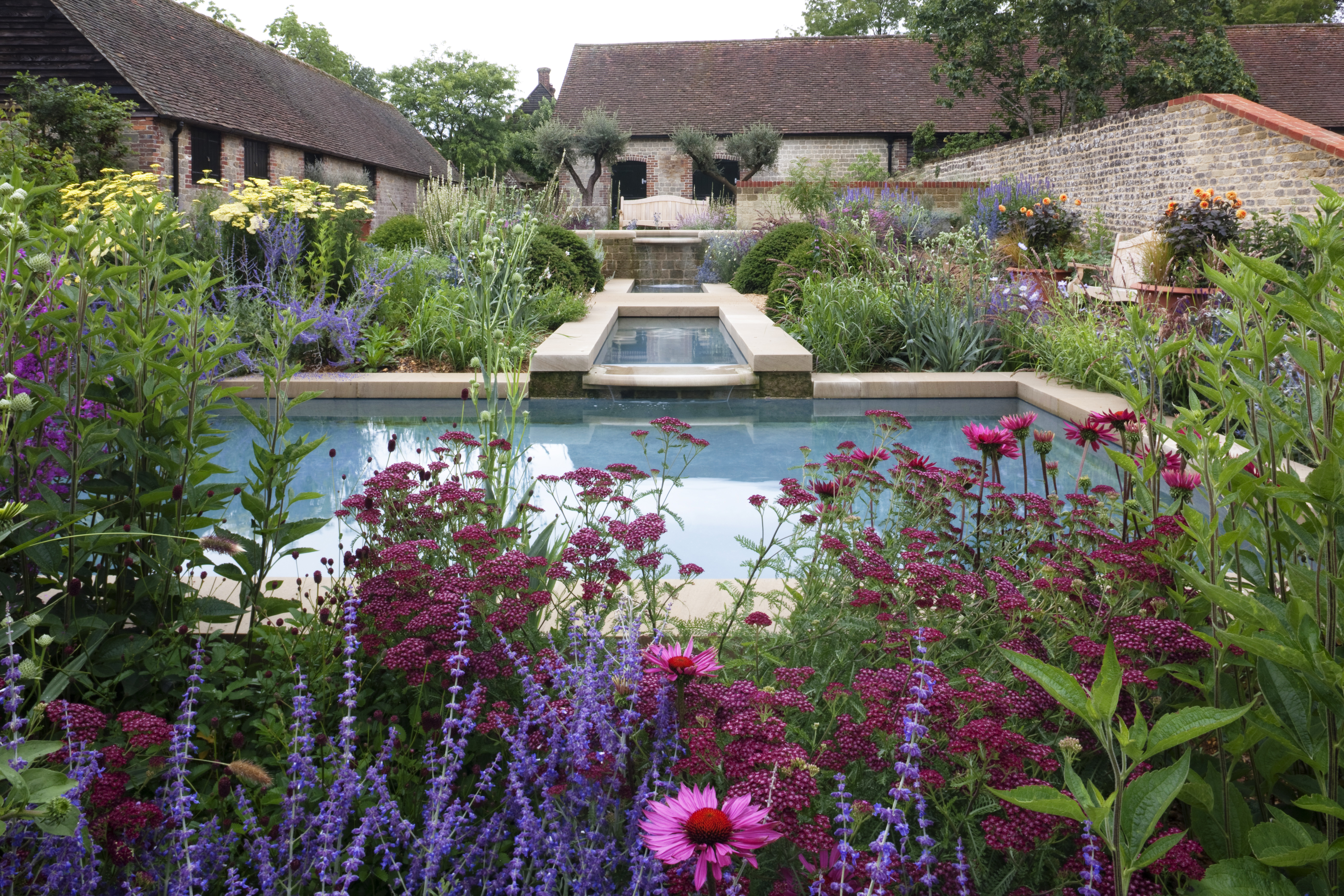 The garden at Woolbeding.