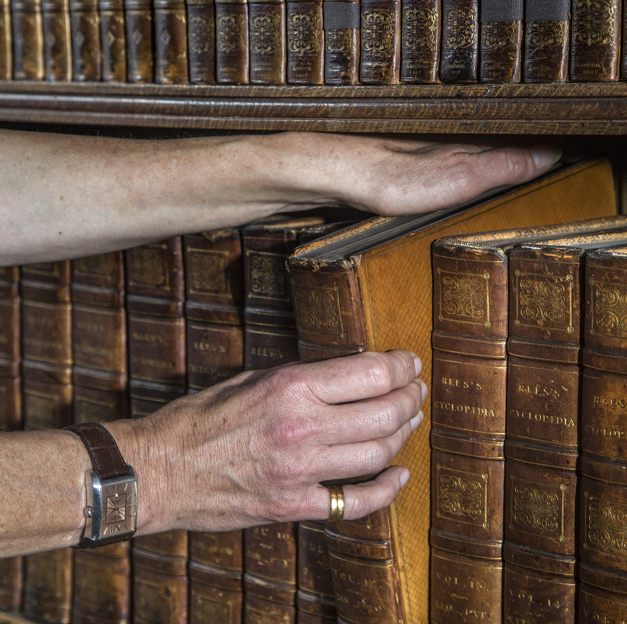Curious Questions: Have you been taking books off shelves the wrong way for your entire life?