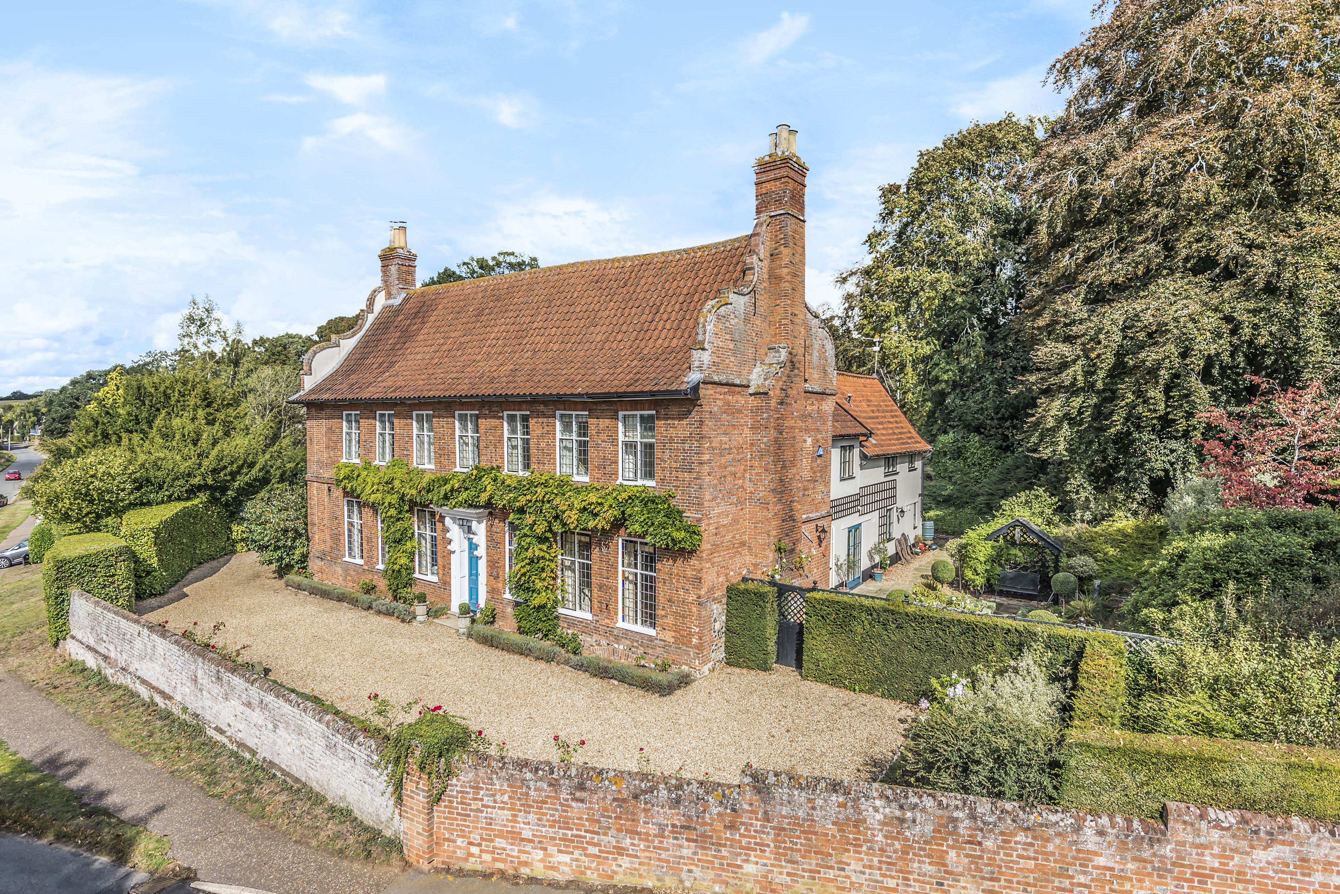 A Grade II*-listed Queen Anne home that was once the pub where Sir Alfred Munnings propped up the bar