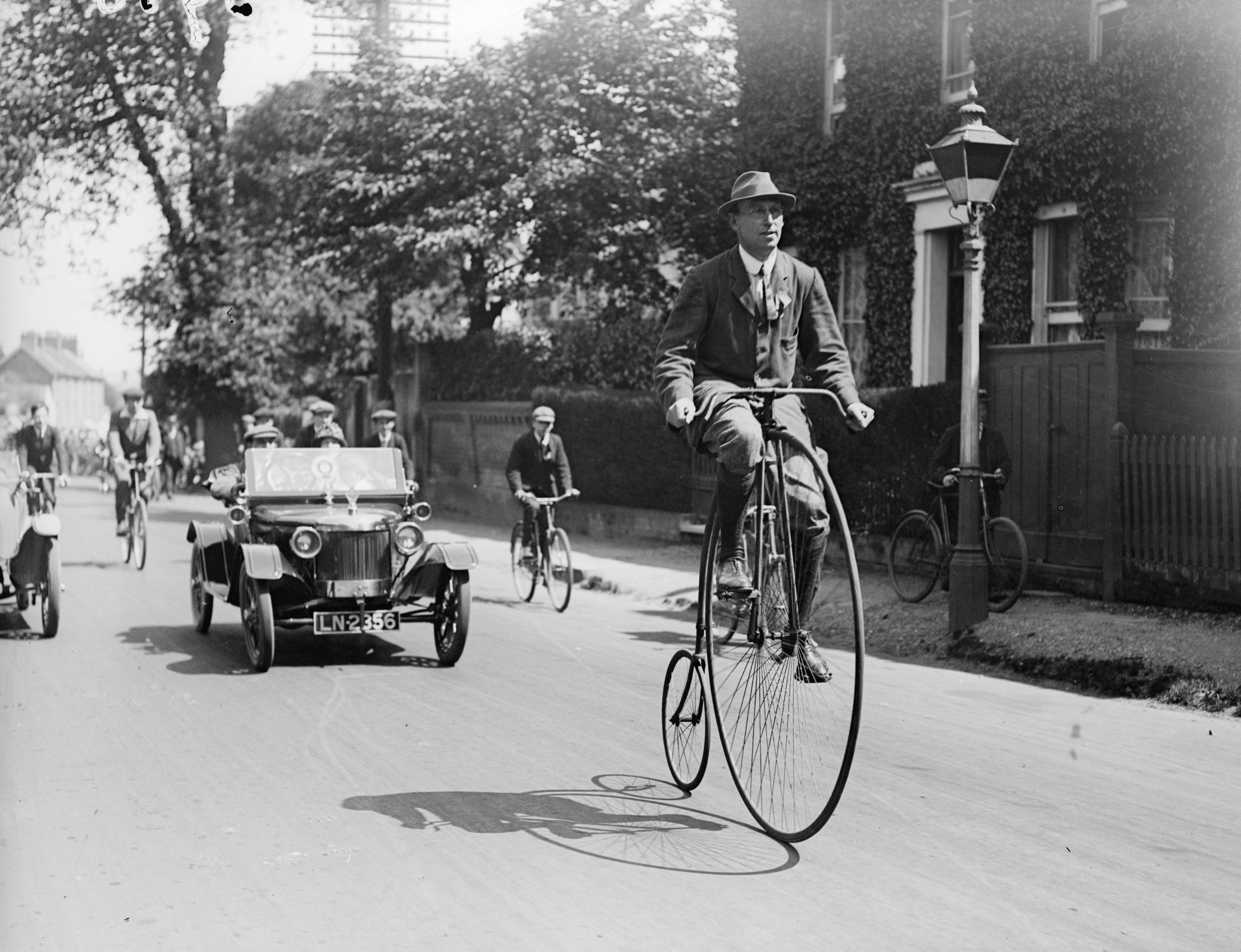 Why the Penny Farthing is once more a frequent sight on the streets of  London - Country Life