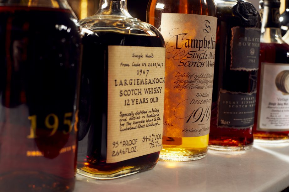 The whisky collection of the late Richard Gooding contained rare and unusual bottles