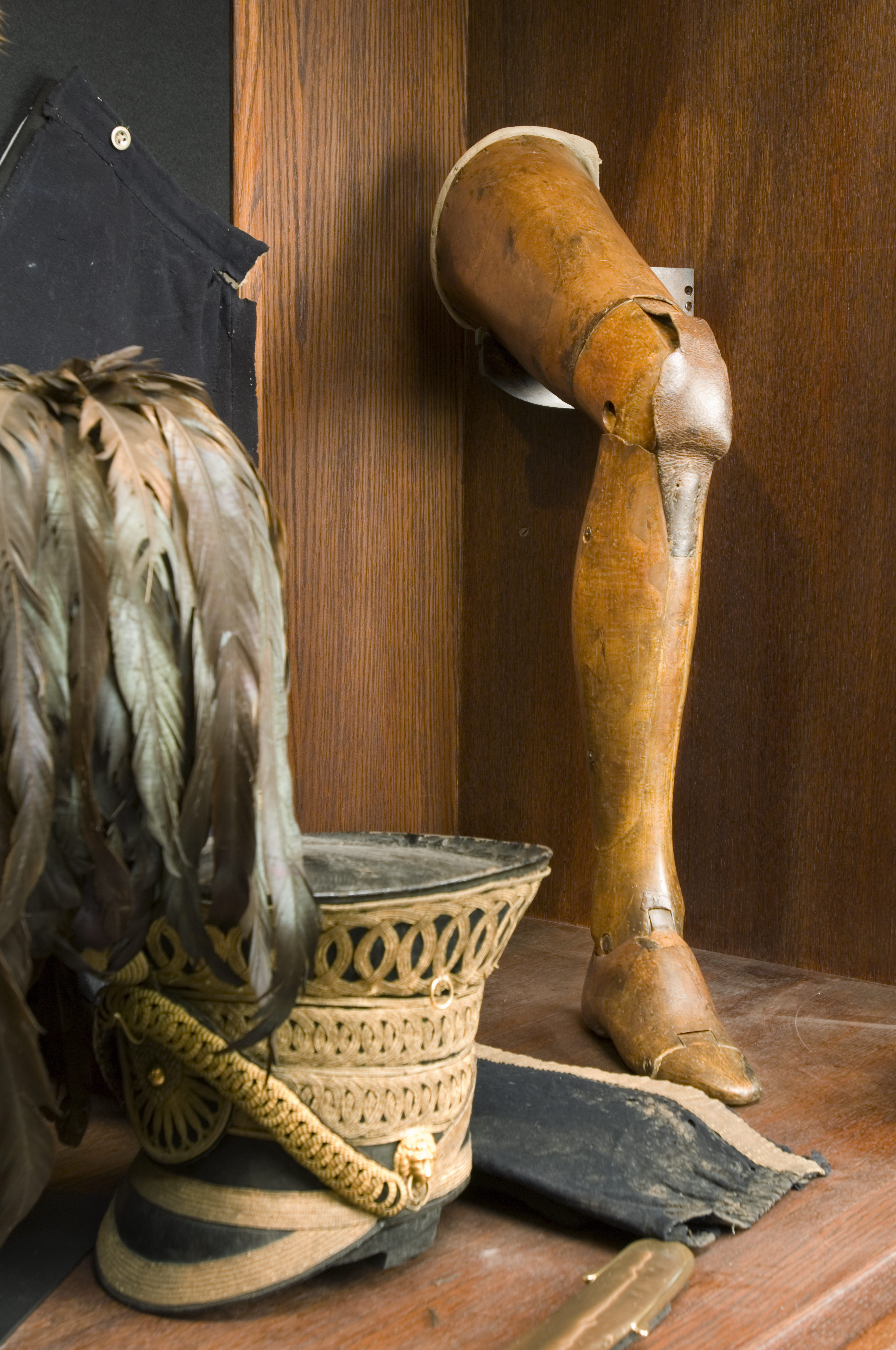 The Marquess of Anglesey's revolutionary wooden leg, one of the National Trust's finest treasures