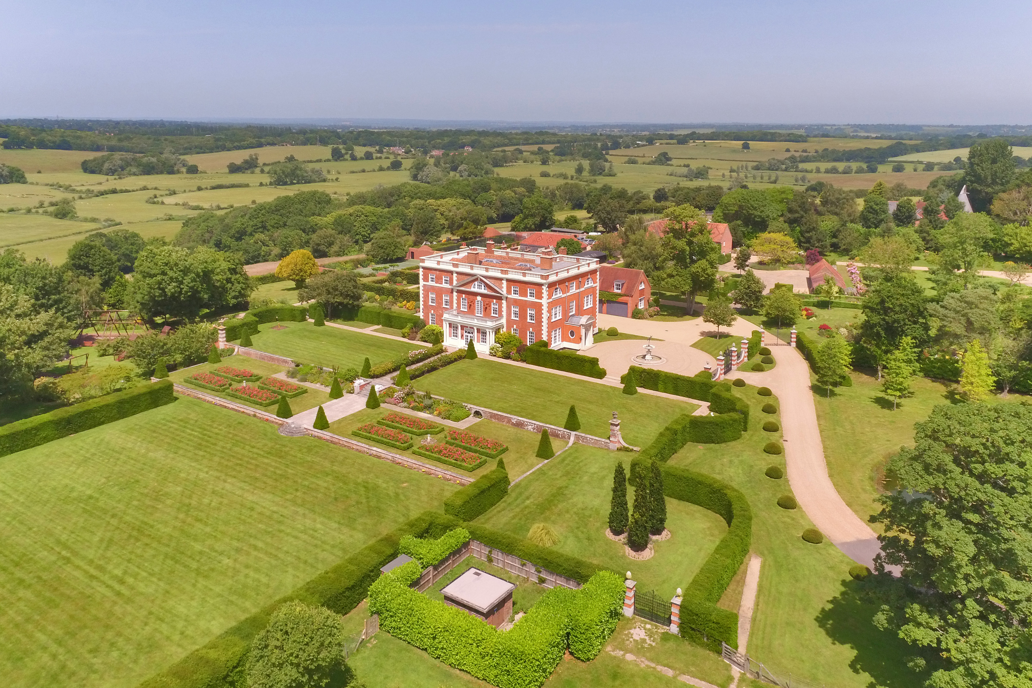 A huge country house in Sussex with 11 bedrooms, seven reception rooms and space for 20 cars