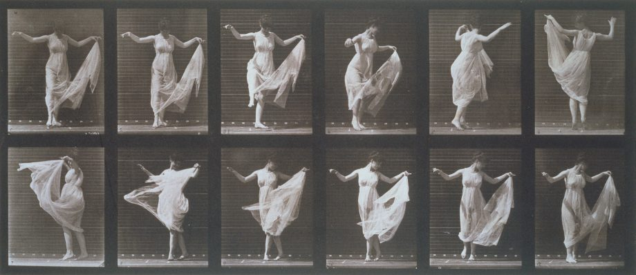 Dancing Girl, Animal Locomotion photo, Eadweard Muybridge. USA, 1887.