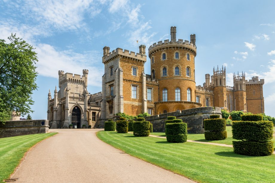 Belvoir Castle exterior - credit RJ Brown
