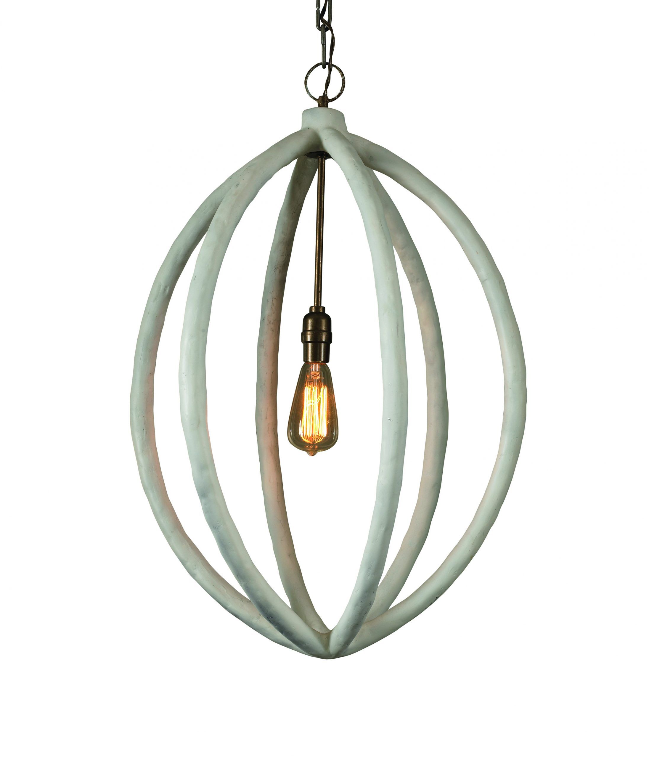 The new chandeliers which offer decorative flourishes and a