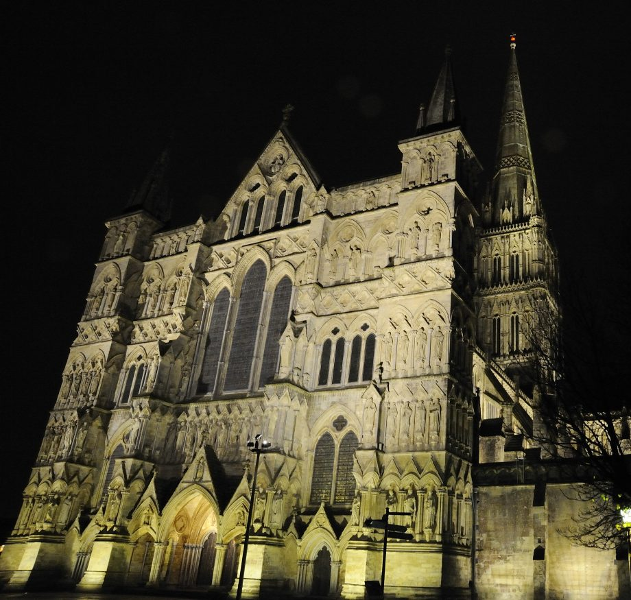 Salisbury Cathedral turns 800 years old in 2020.