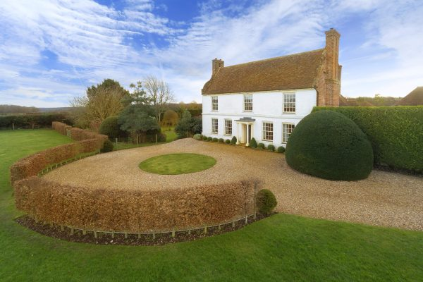 A dutch-gambled manor house with a stunning barn conversion in the Kentish countryside - Country Life