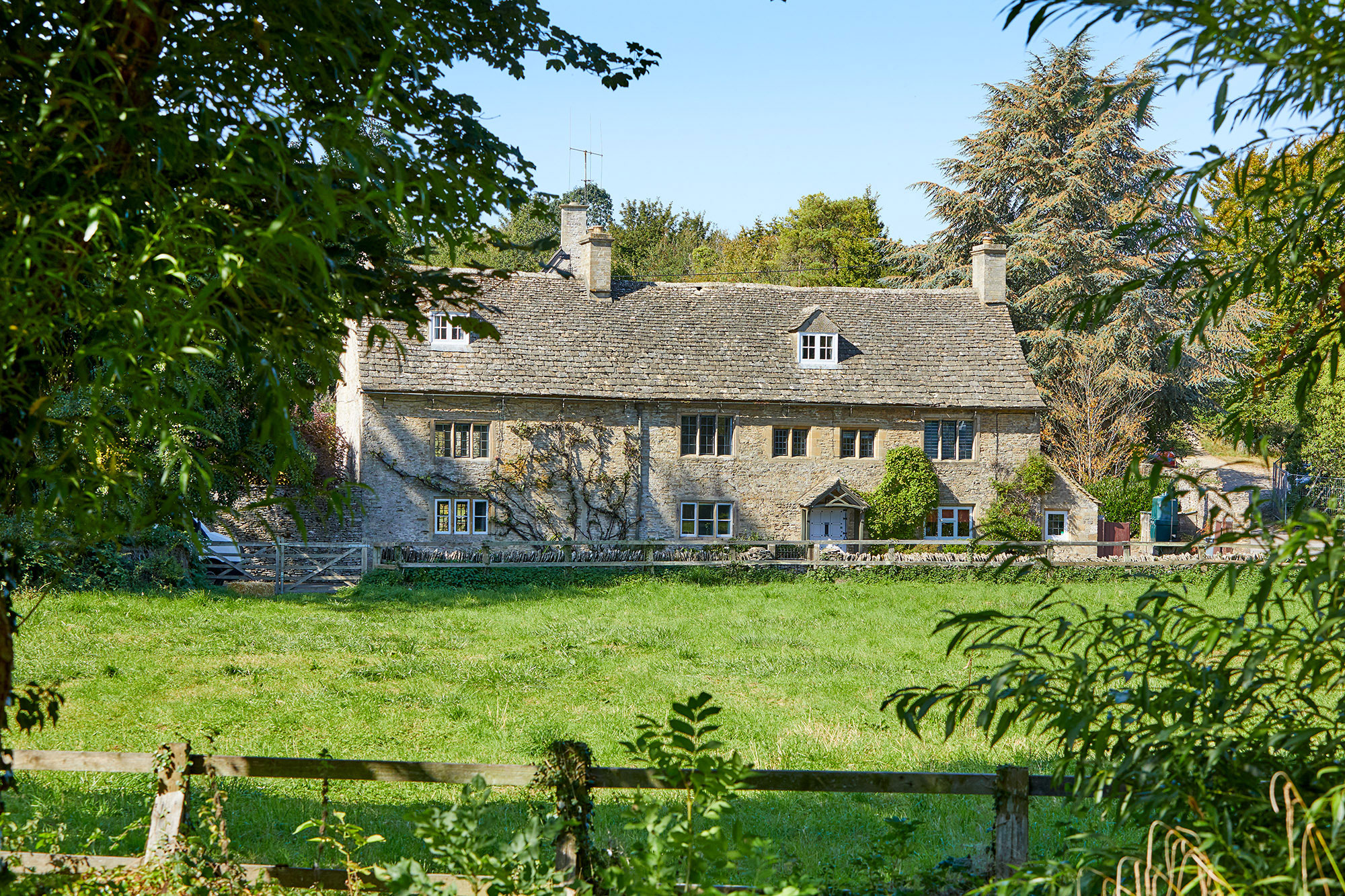 A Cotwsolds cottage with huge barn ripe for conversion, set in a village so pretty it was used for filming Downton Abbey - Country Life