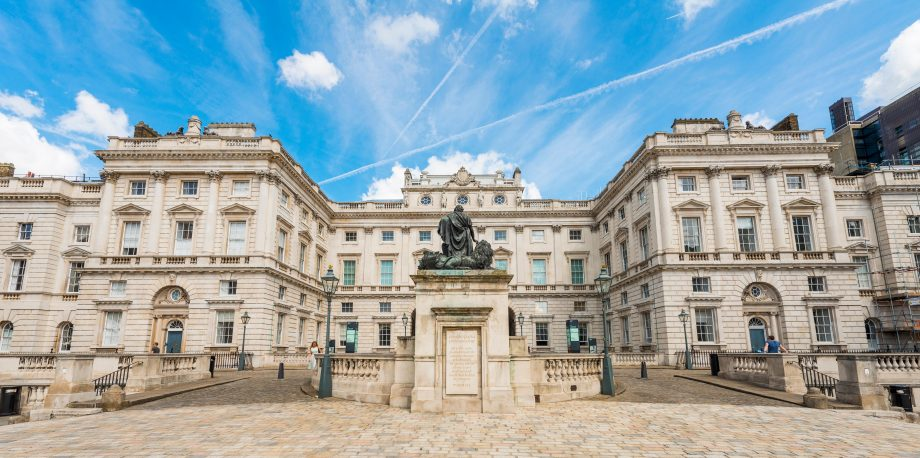 Somerset House, Palace, Somerset House, London, England, United Kingdom