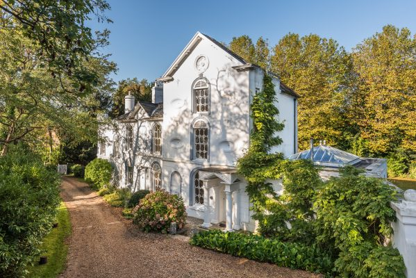 A painstakingly-remodelled old mill house set at the head of Chichester Harbour, with generous ceilings and beautiful Georgian windows - Country Life