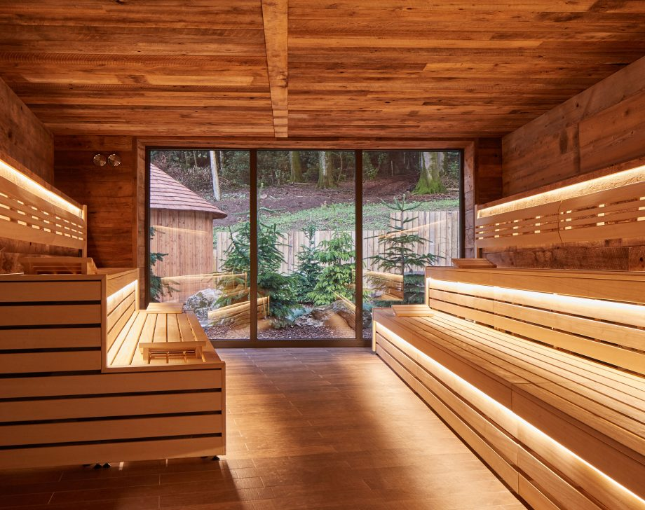 Nordic Sauna, Aqua Sana Spa, Longleat.