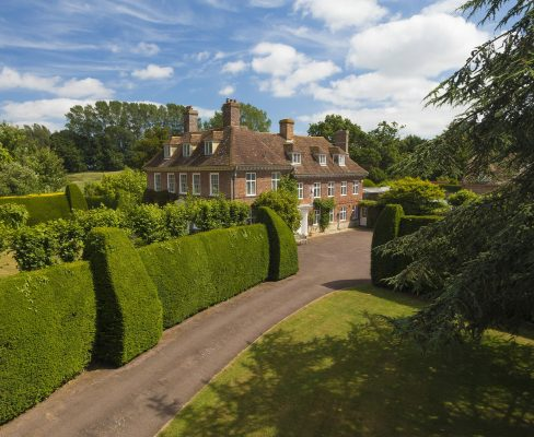 A superb Kent home that's 'the epitome of Queen Anne elegance', complete with temple-style gazebo and reflecting pool - Country Life