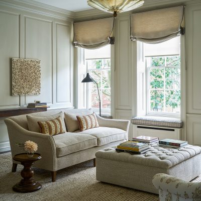 The transformation of a sitting room with just the right touch needed in a grand, Grade II*-listed townhouse - Country Life