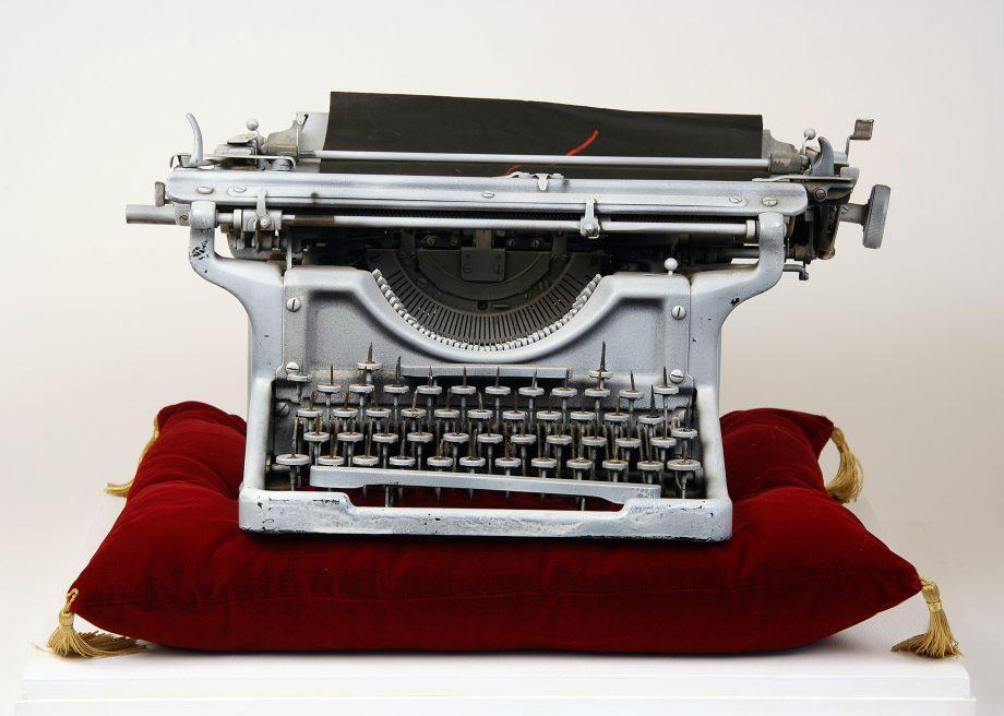Echoes of Dali: Onanistic Typewriter I, 1940, by Conroy Maddow