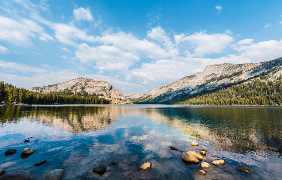 Tenaya Lake, Yosemite National Park, California, USA, North America