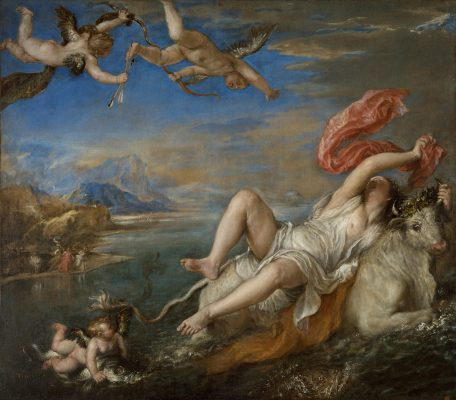 In Focus : The six  poems in paint  by Titian that are in the same room for the first time in 500 years