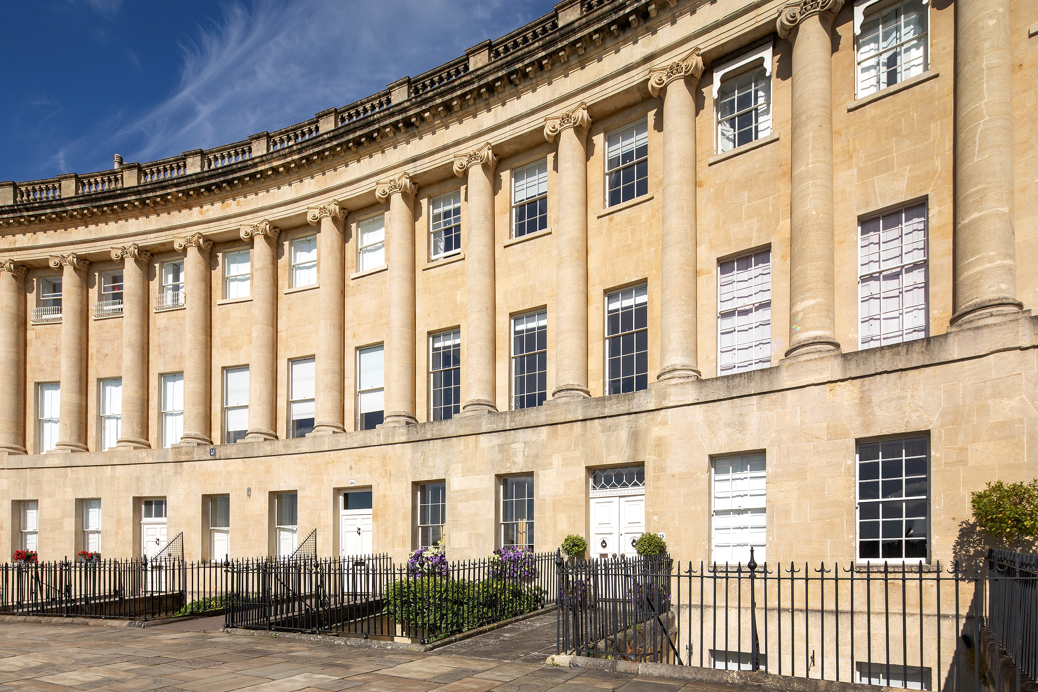 A Georgian jewel: One of the few complete townhouses remaining on Bath's Royal Crescent has come up for sale - Country Life