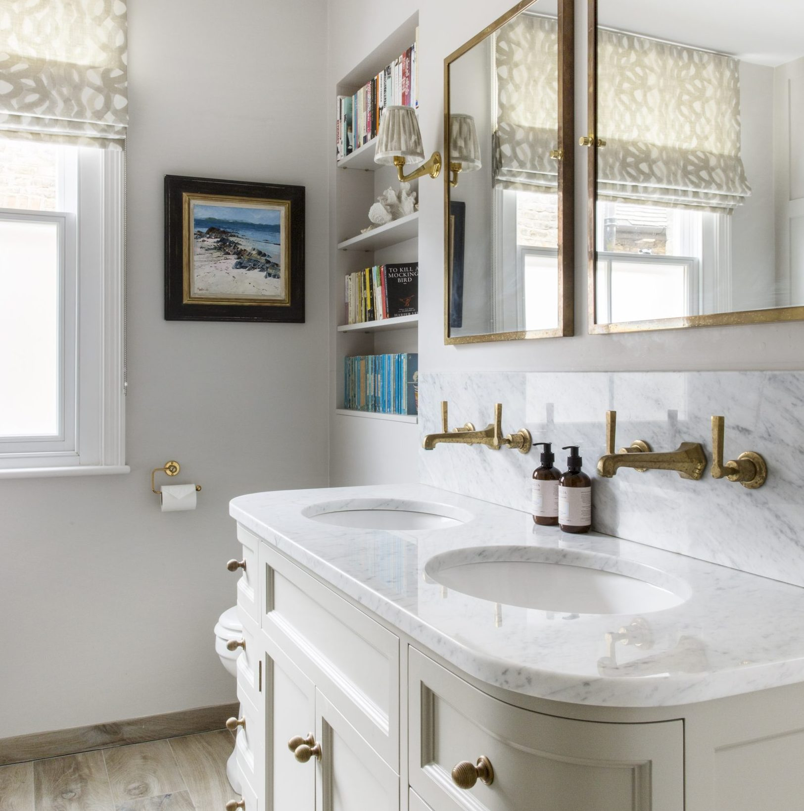How to create a warm, decorative bathroom for a country house - Country Life