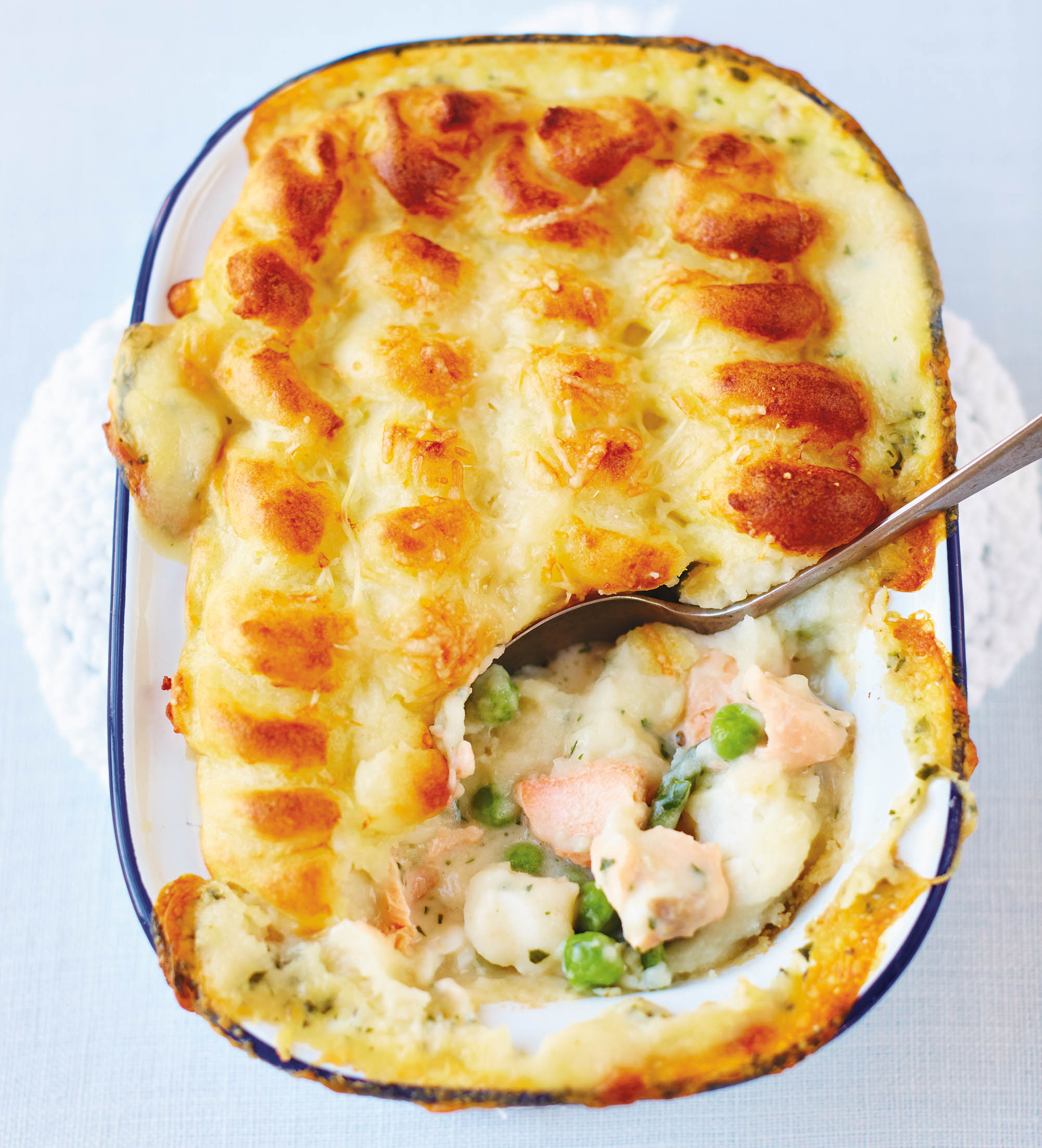 A 'serious fish pie recipe' with some fabulous extra surprises for extra  texture and taste - Country Life