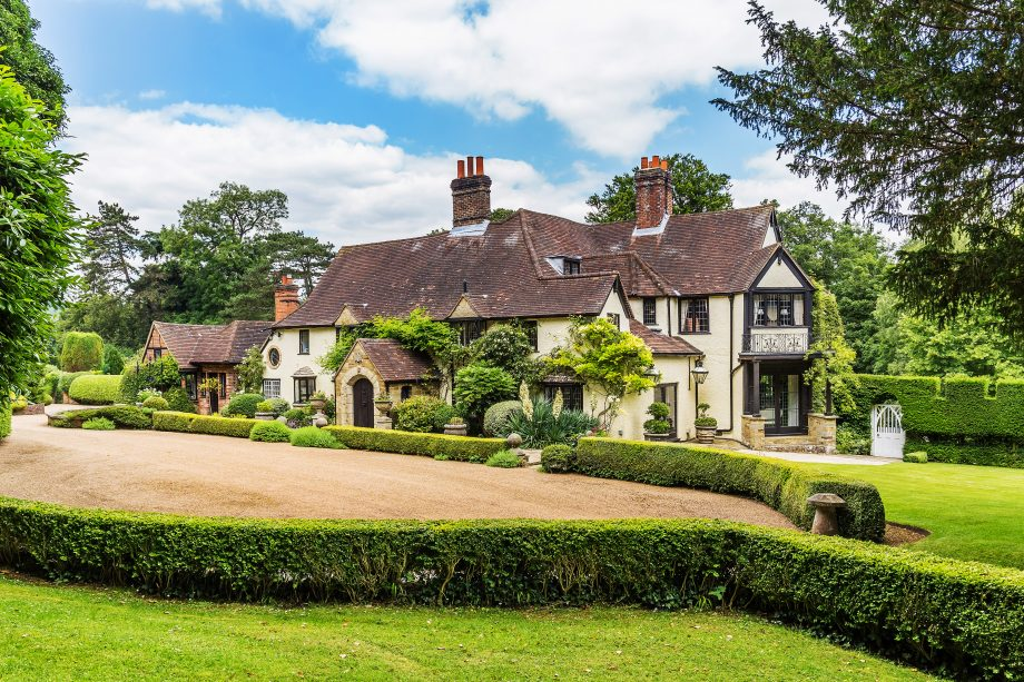 Fredley Manor, in Dorking, is on the market for £3.95m