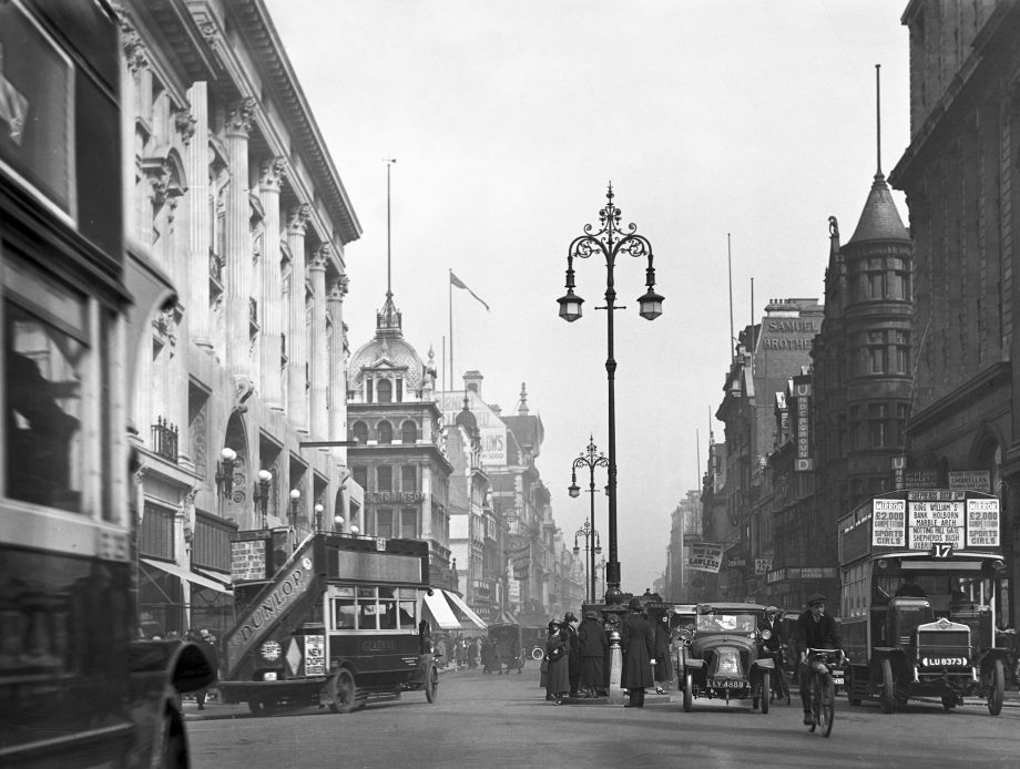 A view of Oxford Street