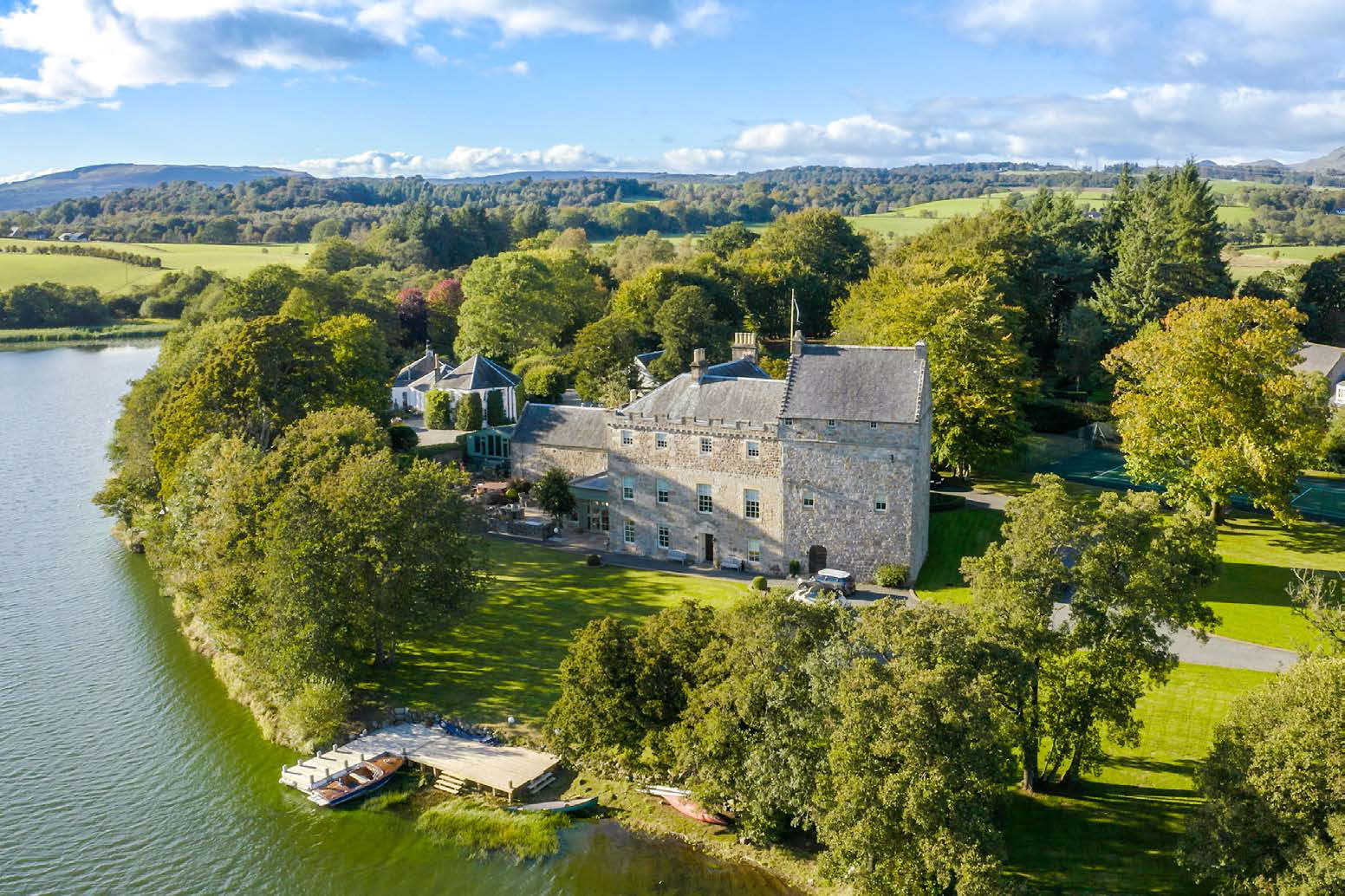 Spectacular Scottish Castles And Estates For Sale Country Life