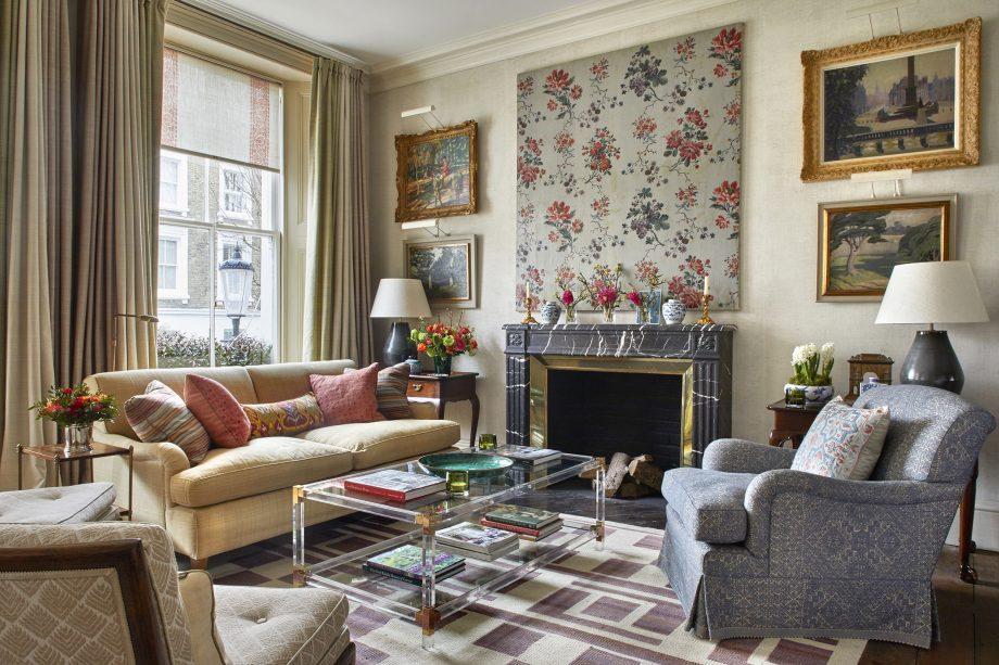An Elegant Living Space Showing, Elegant Living Room Furniture