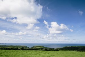 A house with a view... or a view with a house? Picturesque perfection for sale in Cornwall 1