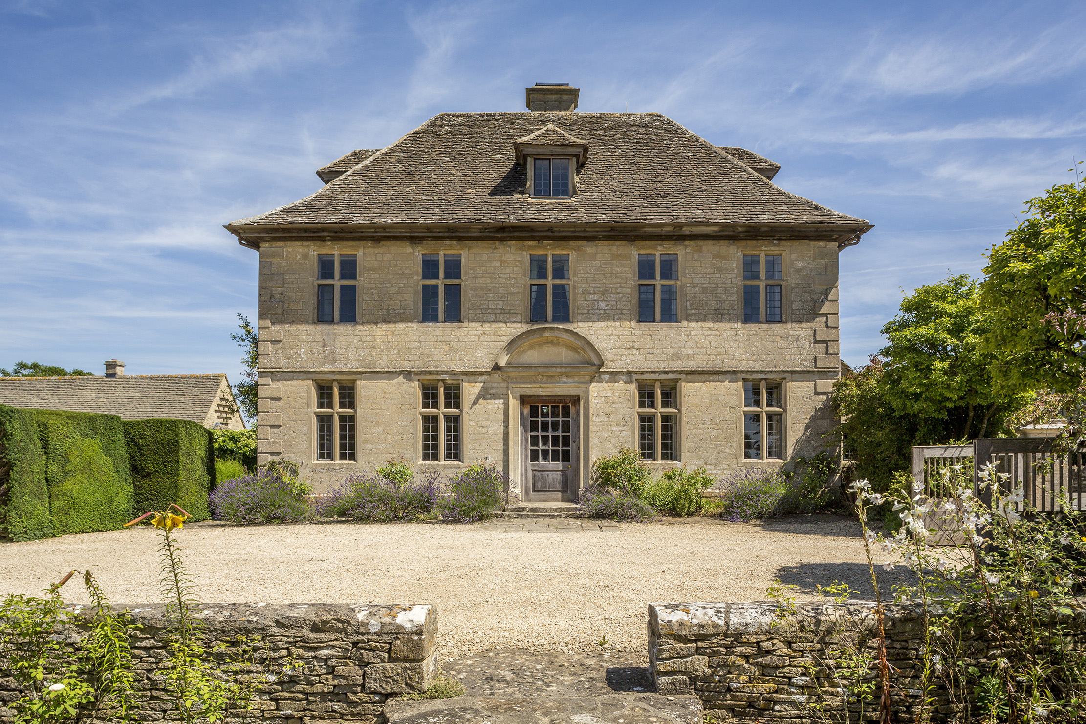 A 'perfect William-and-Mary doll's house' has come up for sale in a delightful Cotswolds village - Country Life