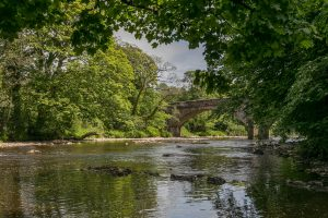 A house and estate for sale with 'some of the finest and most picturesque fishing on the River Hodder' 1