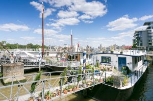 A beautiful houseboat for sale on the Thames, where royalty and pop stars have rubbed shoulders 1