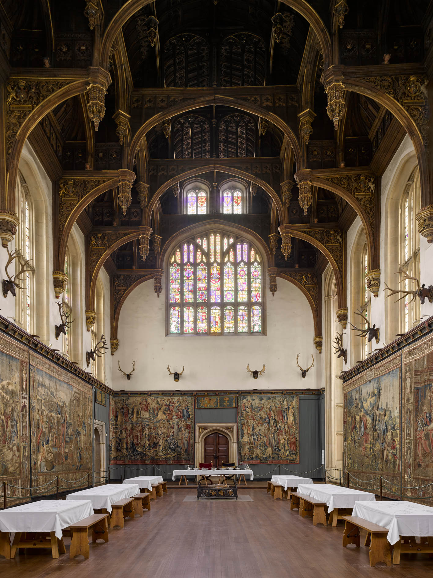 The Great Hall at Hampton Court, the building that 'brings the visitor closer to the world of Henry VIII than any other' - Country Life