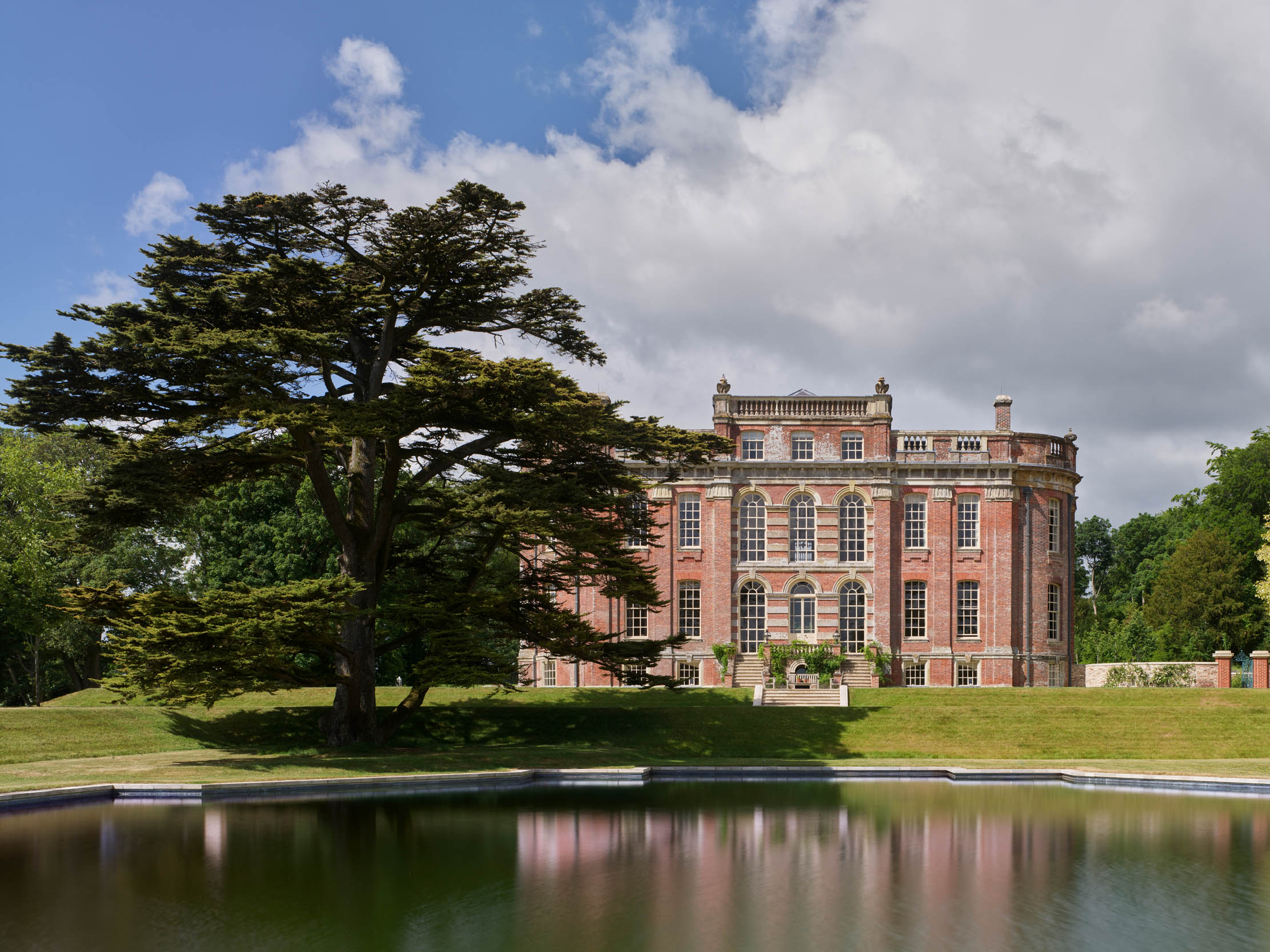 Chettle House: Almost a ruin 200 years ago; a triumph today — 'Everything about the house is novel and ingenious' - Country Life