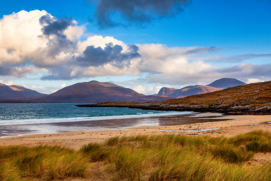Luskentyre Beach on the Isle of Harris