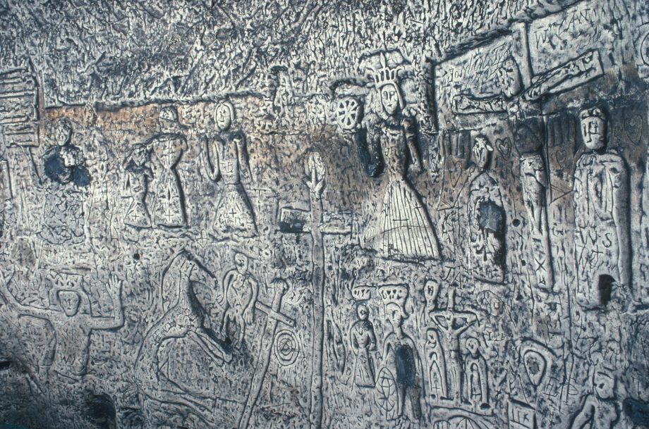 Royston Cave, Royston, Hertfordshire England. Under junction of Icknield way and Ermine Street HOMER SYKES