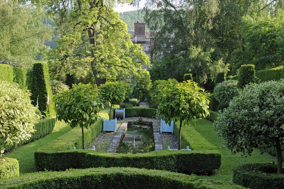 Morville Hall's Canal Garden