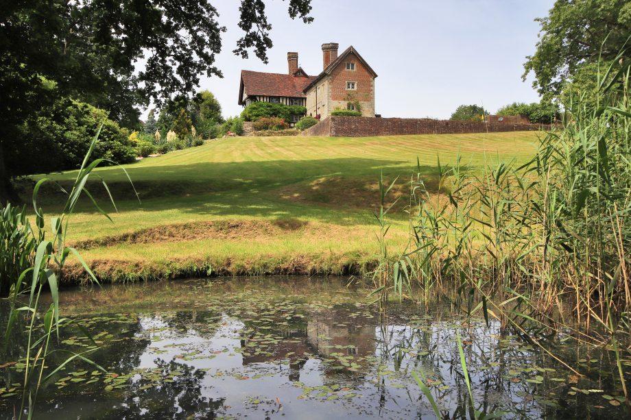 The grounds at Tanyard Manor