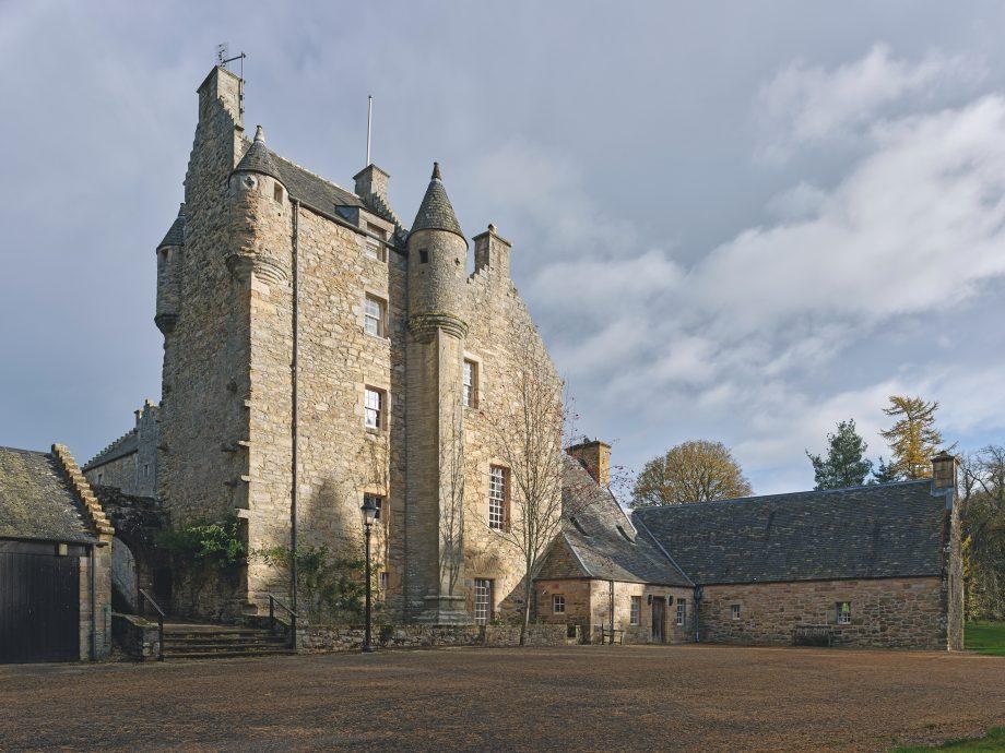 Ferniehirst Castle, tower
