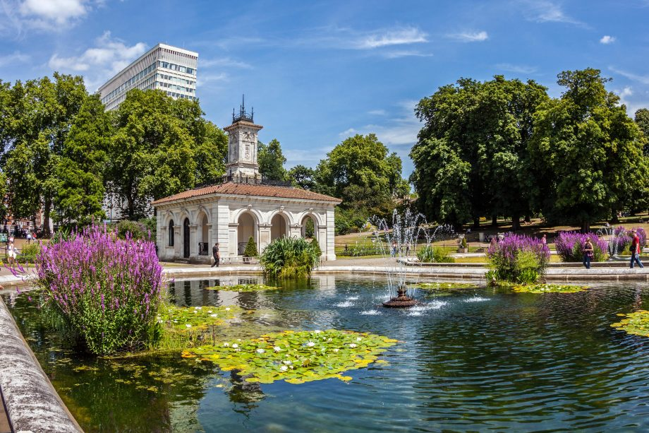 The Italian Gardens, Kensington Gardens
